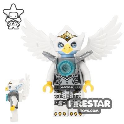 LEGO Legends of Chima Mini Figure - Eris - Silver Armour