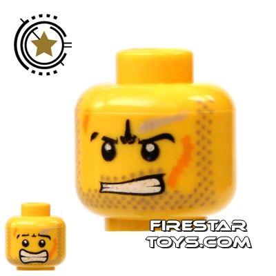 LEGO Mini Figure Heads - Power Miner Head