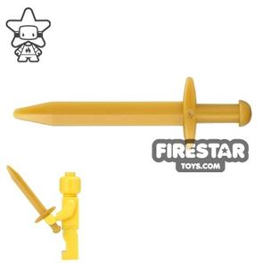 LEGO - Pointed Greatsword - Pearl Gold