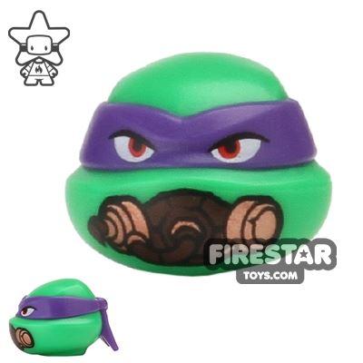 LEGO Mini Figure Heads - Teenage Mutant Ninja Turtles - Donatello Breathing Mask