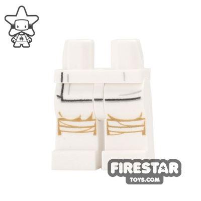 LEGO Mini Figure Legs - Star Wars White Robe