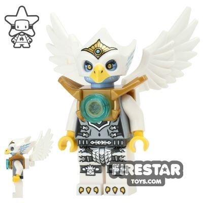 LEGO Legends of Chima Mini Figure - Eris - Silver and Gold