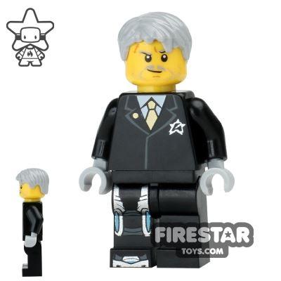 LEGO Ultra Agents Mini Figure - Agent Solomon Blaze