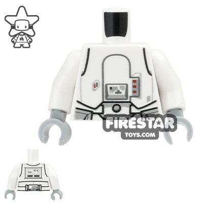 LEGO Mini Figure Torso - Snowtrooper Armour