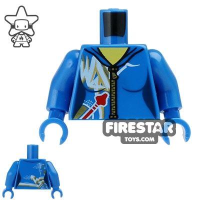 LEGO Mini Figure Torso - Space Jumpsuit