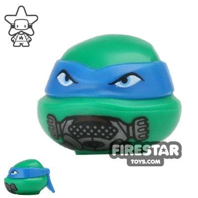 LEGO Mini Figure Heads - Teenage Mutant Ninja Turtles - Leonardo Breathing Mask