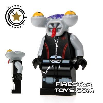 LEGO Space Police Mini Figure - Space Police 3 Alien - Squidtron
