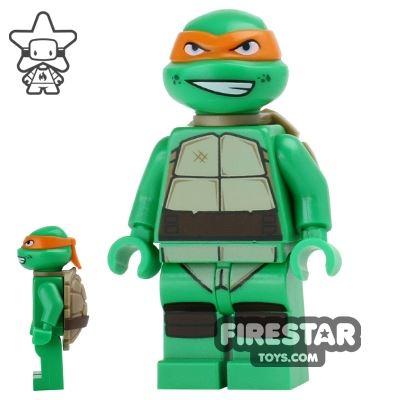 LEGO Teenage Mutant Ninja Turtles Mini Figure - Michelangelo - Grin