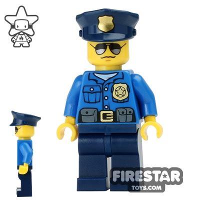LEGO City Mini Figure - City Police Officer 3