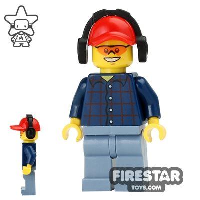 LEGO City Mini Figure - Lumberjack 2