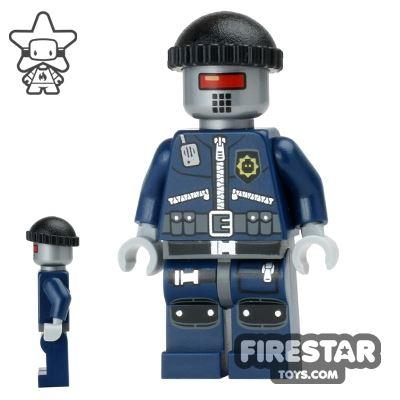 The LEGO Movie Mini Figure - Robo SWAT - Cap and Neck Bracket