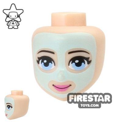 LEGO Friends Mini Figure Heads - Face Mask