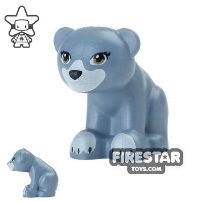 LEGO Animals Mini Figure - Bear - Sand Blue