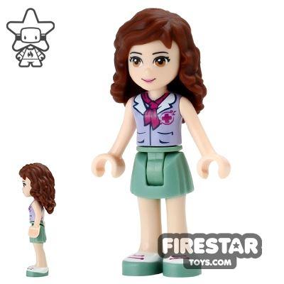 LEGO Friends Mini Figure - Olivia - Red Cross Top