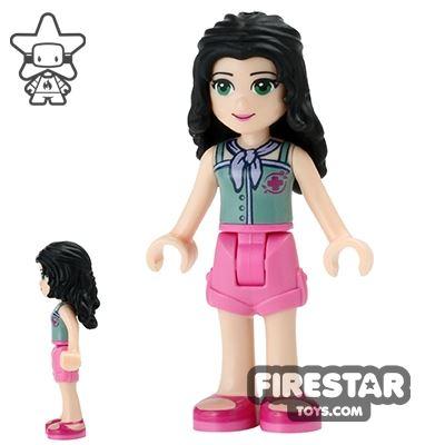 LEGO Friends Mini Figure - Emma - Red Cross Top