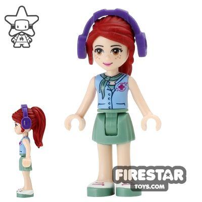 LEGO Friends Mini Figure - Mia - Headphones