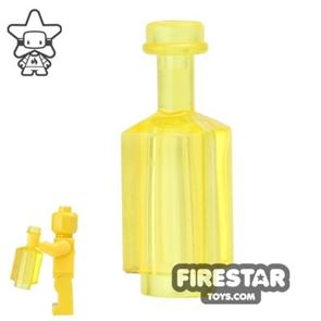 BrickForge - Square Bottle - Trans Yellow