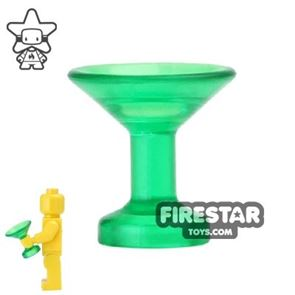 BrickForge - Champagne Sipping Glass - Trans Green