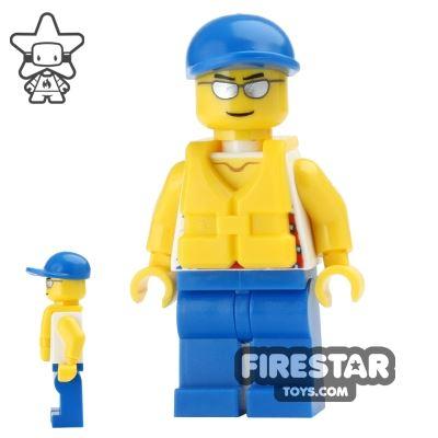 LEGO City Mini Figure - Speedboat Driver