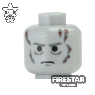 LEGO Mini Figure Heads - Darth Vader - Scars