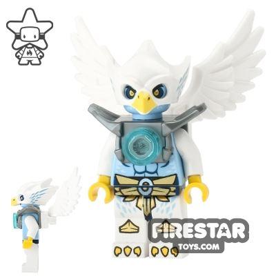 LEGO Legends of Chima Mini Figure - Ewar - Flat Silver Armour