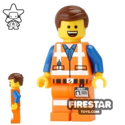 The LEGO Movie Mini Figure - Emmet - Wide Open Smile