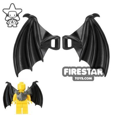BrickWarriors - Dragon Wings - Black