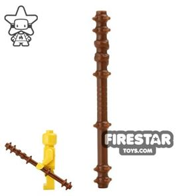 BrickWarriors - Quarterstaff - Brown