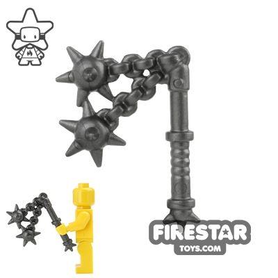 BrickWarriors - Double Flail - Steel