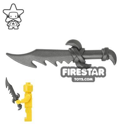BrickWarriors - Dragon Sword - Steel