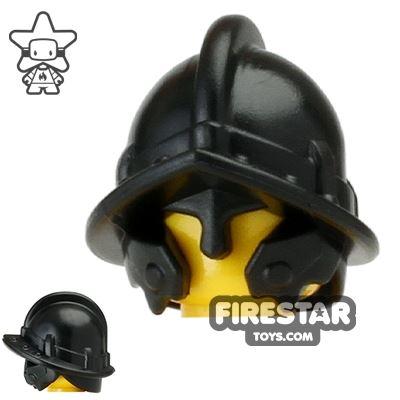 BrickWarriors City Watch Helmet Black