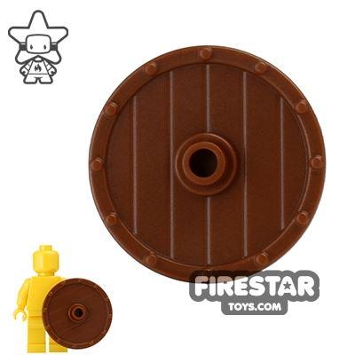 BrickWarriors - Viking Shield - Brown