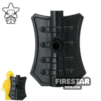 BrickWarriors - Pavise Shield - Black