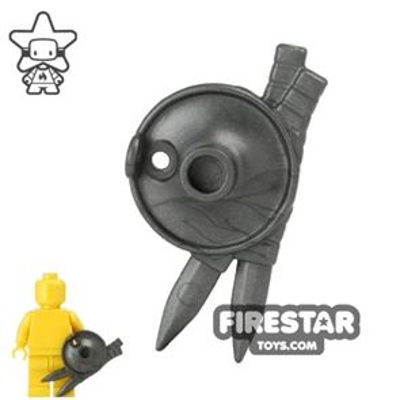 BrickWarriors - Lantern Shield - Steel