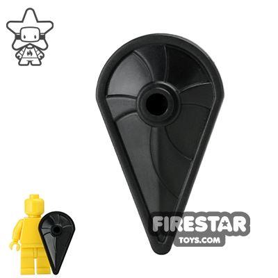 BrickWarriors - Kite Shield - Black