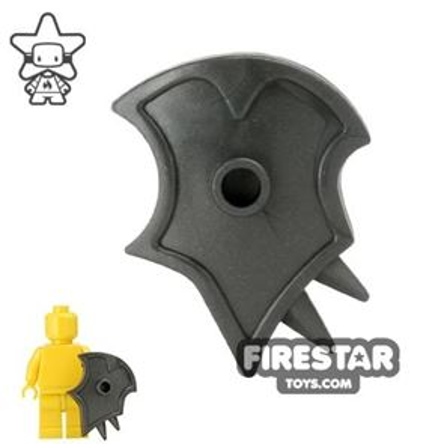BrickWarriors - Demon Shield - Steel