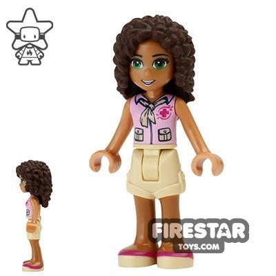 LEGO Friends Mini Figure - Andrea - Red Cross Top