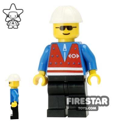 LEGO City Mini Figure - Train Worker