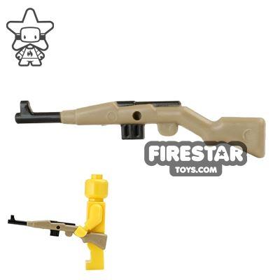 BrickForge - Gewehr 43 - RIGGED System - Dark Tan