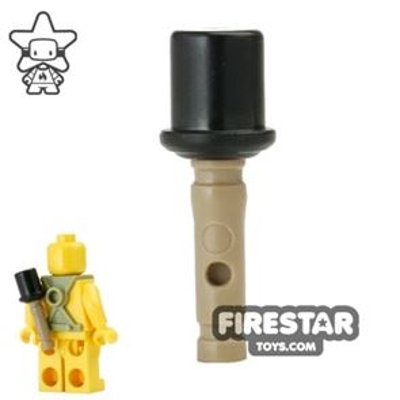 BrickForge - Dark Tan Stick Grenade - RIGGED System - Dark Tan