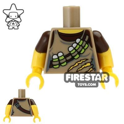 LEGO Mini Figure Torso - Dino Tracker