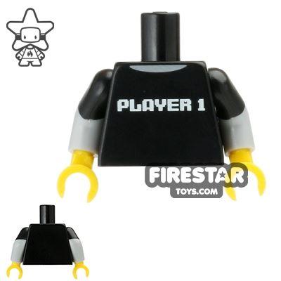 LEGO Mini Figure Torso - Video Game Player Shirt