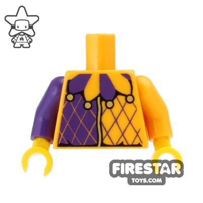 LEGO Mini Figure Torso - Jester Costume