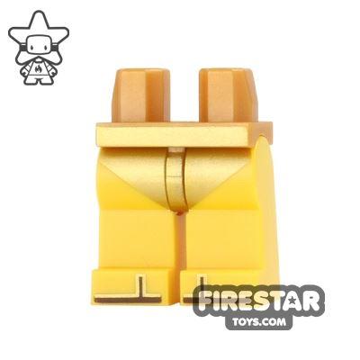 LEGO Mini Figure Legs - Gold Bikini
