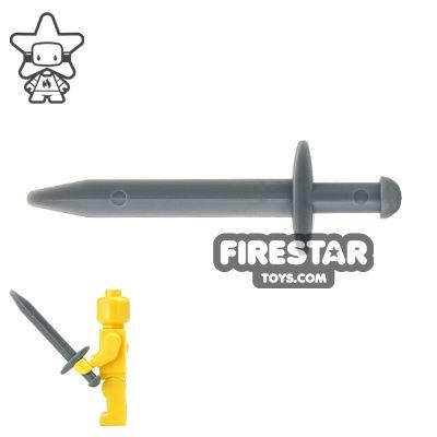 LEGO - Hun Warrior Sword - Dark Bluish Gray