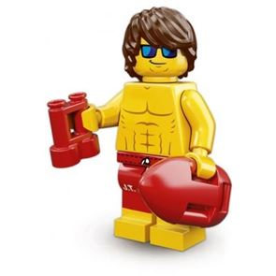 LEGO Minifigures - Lifeguard Guy