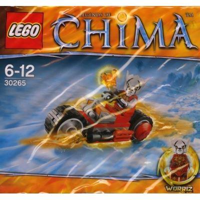 LEGO Chima 30265 - Worriz' Fire Bike