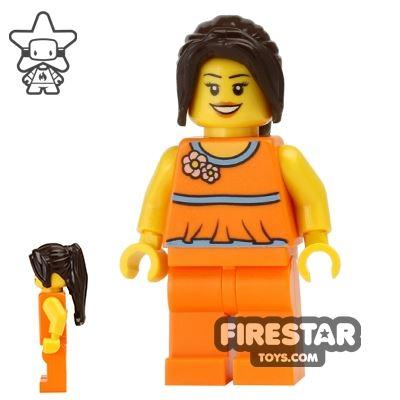 LEGO Holiday Mini Figure - Orange Outfit
