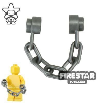 LEGO - Short Chain - Dark Bluish Gray