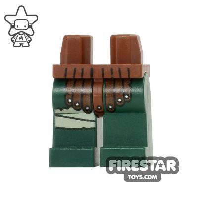 LEGO Mini Figure Legs - Teenage Mutant Ninja Turtles - Leather Armour